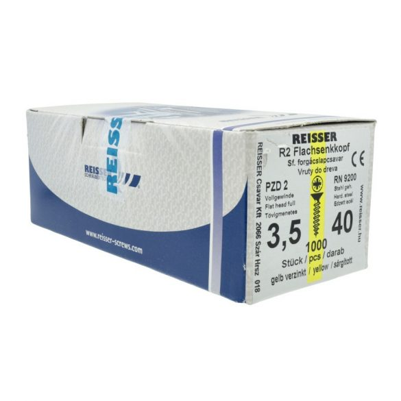 Reisser Forgácslapcsavar 3,5x45mm 1000db/dob