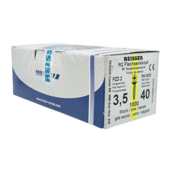 Reisser Forgácslapcsavar 6x140mm 100db/dob